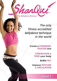 SharQui - The bellydance workout Level 1 for Beginners: A Complete How-To Belly Dance for Fitness