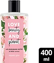 Love Beauty And Planet Body Wash Murmuru Butter & Rose, 400ml