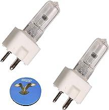 HQRP 2-Pack 24V 150W Halogen Bulb GY9.5 Dentistry Dental Lamp for Faro Koolbeam / S2000 / S90 / Sunlight 70 + HQRP Coaster