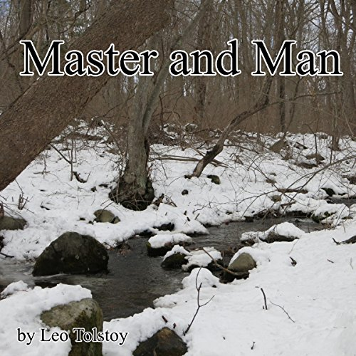Master and Man audiobook cover art