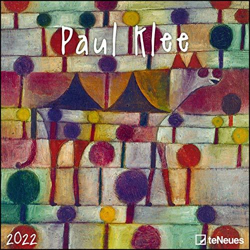 Paul Klee 2022 - Wand-Kalender - Broschüren-Kalender - 30x30 - 30x60 geöffnet - Kunst-Kalender