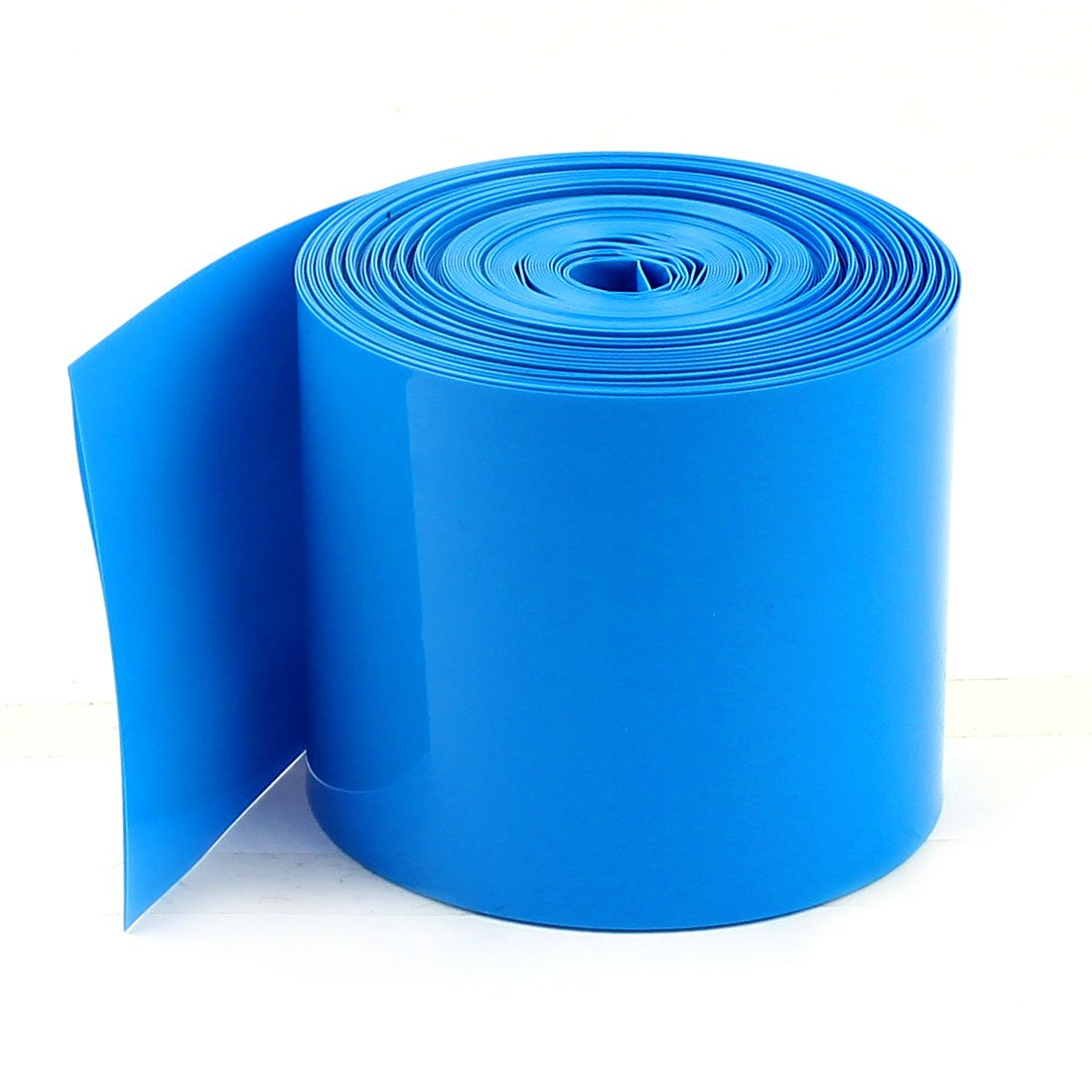 Cheap SALE Start uxcell Large discharge sale 10Meters 50mm Width PVC Heat Tube Shrink Wrap for Blue 2