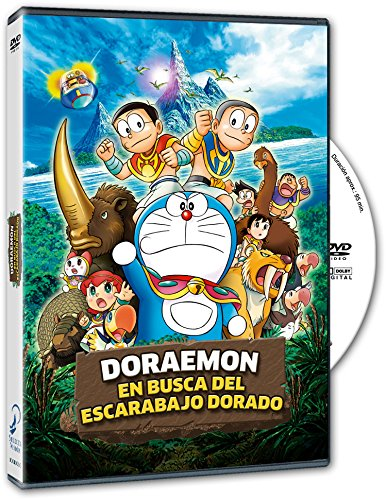 Doraemon En Busca Del Escarabajo Dorado [DVD]