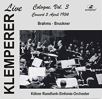 Klemperer Live: Cologne, Vol. 3 – Concert 5 April 1954 (Historical Recording)