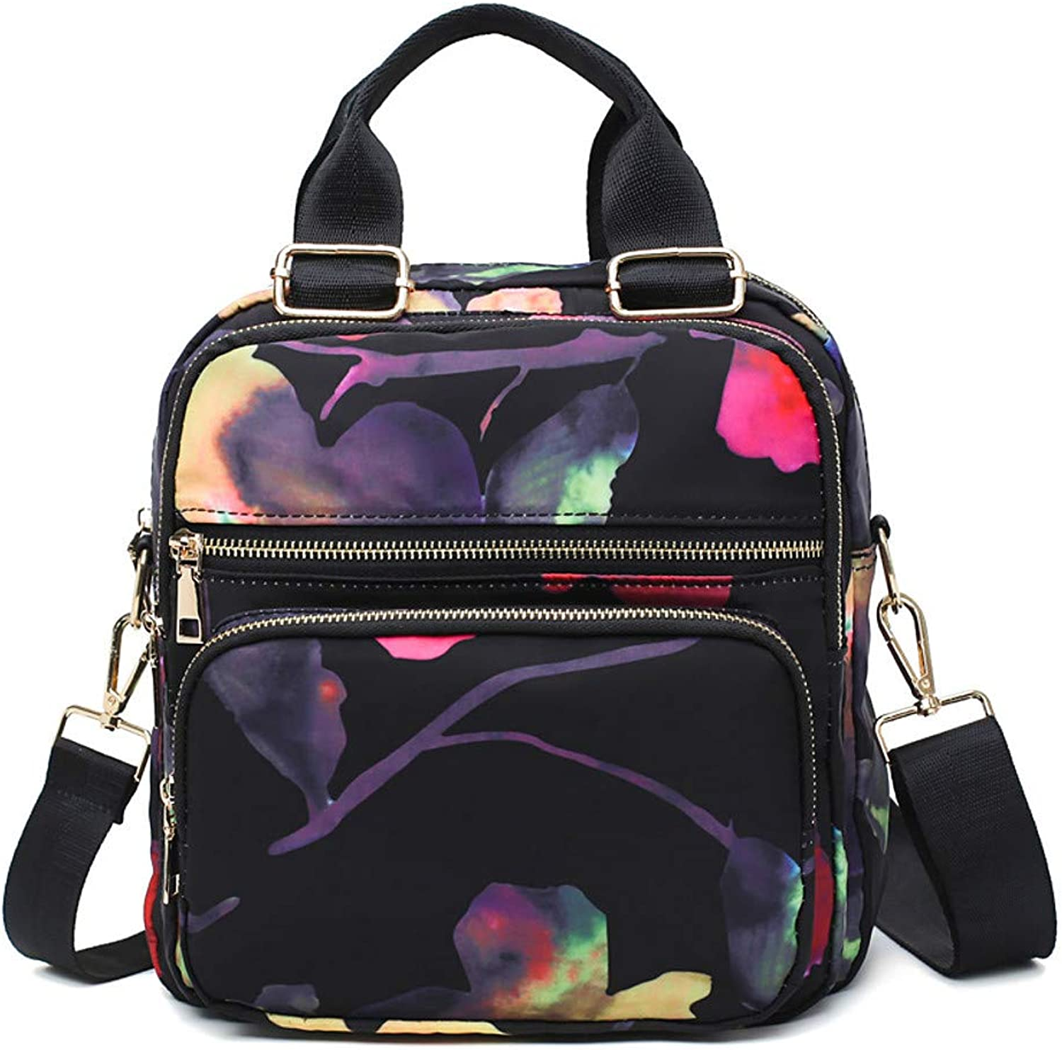 Show Time backpack:Women's Bags Oxford Cloth Backpack Zipper Fruit Black