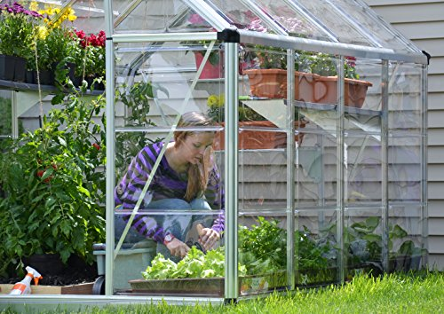 Palram Snap and Grow Greenhouse - 6Ft x 8Ft