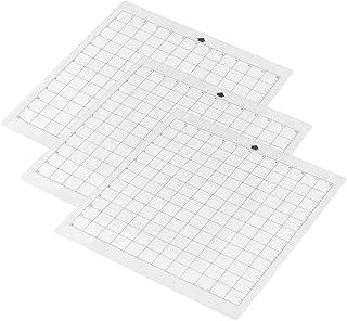 Aibecy - Alfombrilla de corte transparente con rejilla de medición de 12 x 12 pulgadas para máquina de trazador de silueta Cameo 3pcs