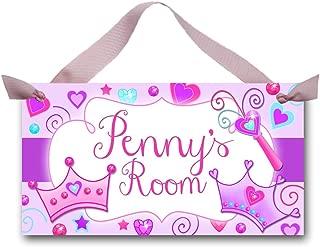 Toad and Lily Diva Princess Girls Bedroom Baby Nursery Bedroom DOOR SIGN Wall Art Decor DS0153