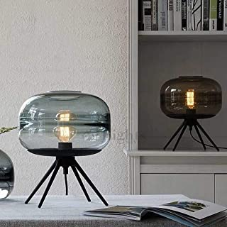 Lampe de Table Lampe de table en verre LED salon décoration lampe de table lit moderne minimaliste personnalité créative l...