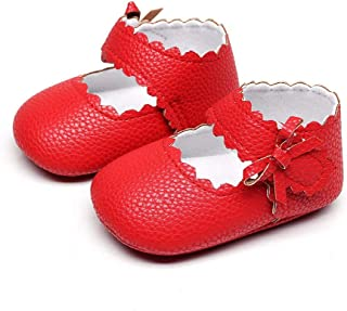 UROSA BabyToddler NewbornGirls Boys Soft Sole Wave Bowknot Shoes ,Where Can I Get Baby Walking Shoes