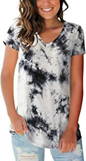 tie dye tee shirts for women