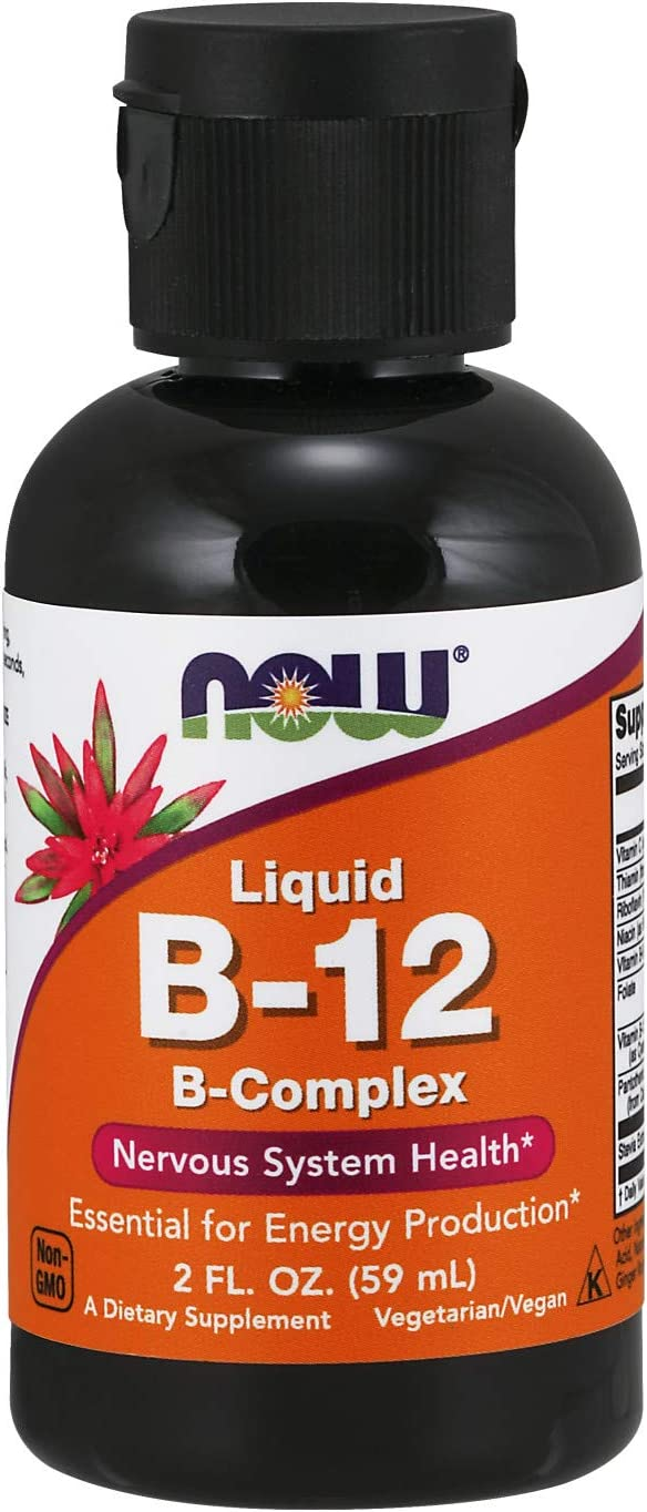 NOW Supplements Vitamin B-12 Production Minneapolis Quality inspection Mall Complex Energy Liquid