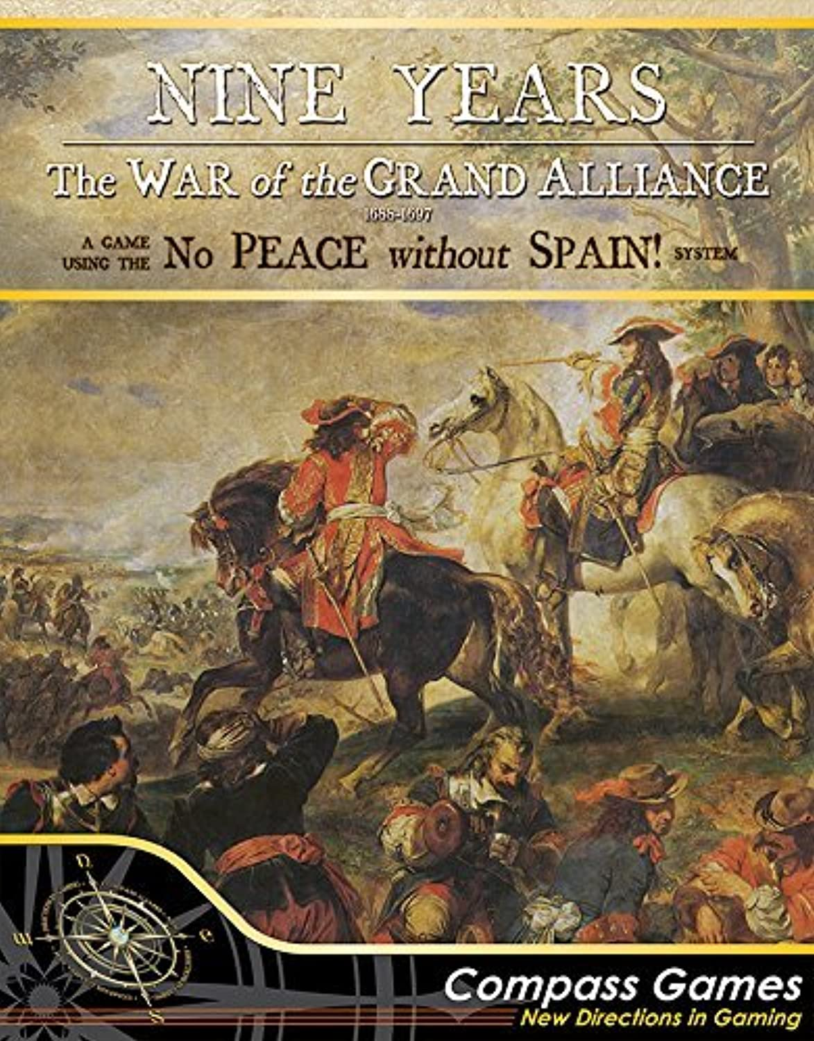 CPS  Nine Years, War of the Grand Alliance, Boardgame B06ZZ34PW2 Überlegen     | Zahlreiche In Vielfalt