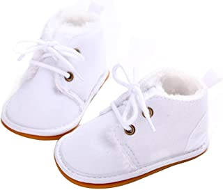 Baby Girl Boy Anti Slip Sole Thick Snow Boots Shoes Sneaker