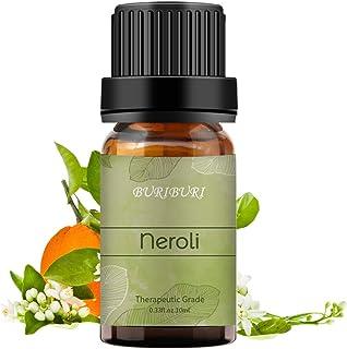 BURIBURI Neroli Essential Oil 100% Pure Therapeutic Grade Aromatherapy Oil for Diffuser, Massage (Neroli)