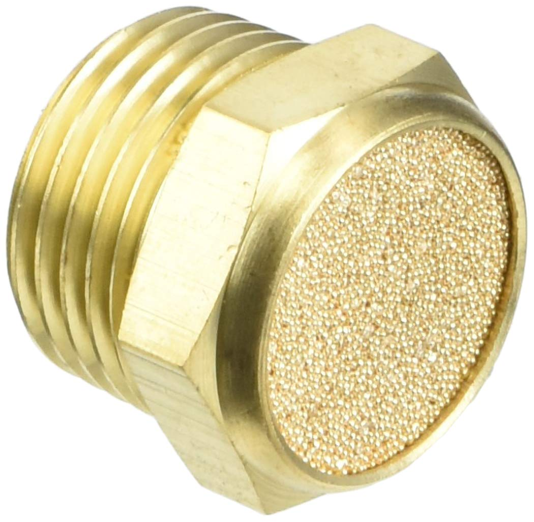 Pneumatic Muffler Filter Sintered Bronze 1//2 BSPT by MettleAir