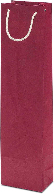 50 x Flaschentasche rot 9565x380 cm     stabile Geschenktasche   Flaschentüten Baumwollkordel   Wine Bag   Weintasche   HUTNER B076KPVX1X | Exzellente Verarbeitung  | Für Ihre Wahl  | Mangelware  37be77