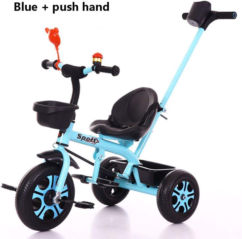 Cpippo Laufrad ab 2-6 Jahre Junge Mdchen, Kinderwagen 3 in 1 mit 3 Arten Reifen Knnen Vorgewhlt Werden, die Last 25KG ist für Schotterstrae, Parkstrae,8