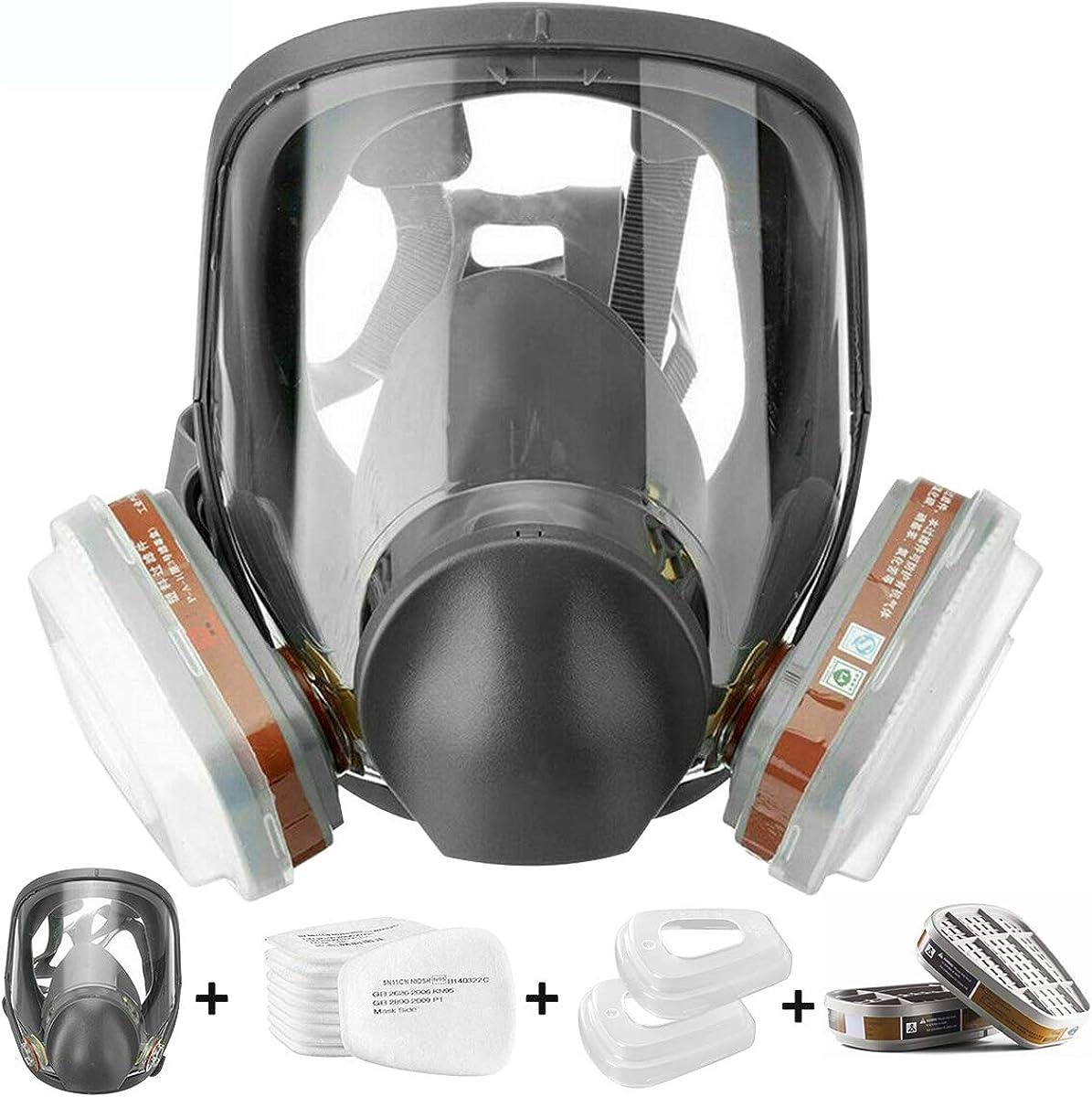 Ayybf Full Face Respirаtor Reusable Respir Organic Vapor Sales results No. 1 Cover High order