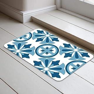 Bonamaison Antibacterial, NonSlip Bathmat - Doormat, 1 Piece 40 x 70 cm - Designed and Manufactured in Turkey