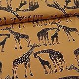 Schickliesel Jersey Stoff Meterware Giraffen