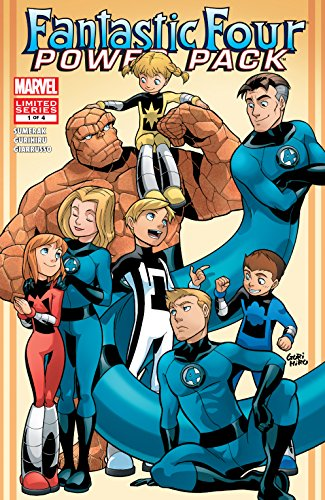 Fantastic Four and Power Pack (2007) #1 (of 4) (English Edition ...