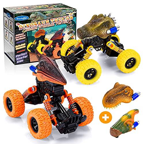 Toyzey Monster Truck,Coches de Juguetes Dinosaurios Juguetes Niños 2-8 Años Regalo Niño 2-8 Años Juguetes para Niños de 2-8 Años Dinosaurios Juguetes 2-8 Años Regalos para Niños