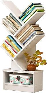 Miwaimao étagère de Rangement étagères flottantes étagère, étagères pour étudiants au Sol, bibliothèque créative Simple et...