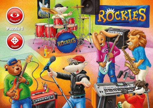 Ravensburger 07504 - Welt der Musik - Interactive Puzzle, 3 x 35 Teile