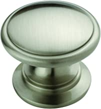 Allison Value 1-1/4 in (32 mm) Satin Nickel Cabinet Knob - 25 Pack