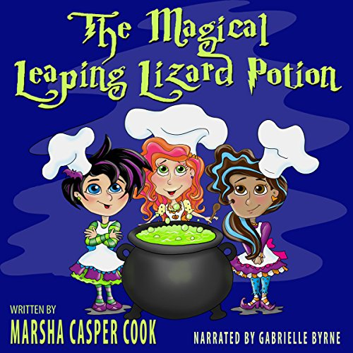 The Magical Leaping Lizard Potion audiobook cover art