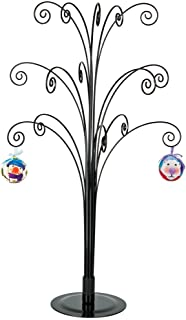 HOHIYA Ornament Display Stand Tree Halloween Christmas Metal Dog Cat Bauble Wire Hanger 20inch(Black)