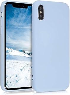 kwmobile Hülle kompatibel mit Apple iPhone X   Handyhülle Handy Case in Hellblau matt