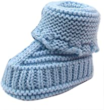 Premium Soft Socks Boat for Newborn Baby Boys Girls Knitted Lace Crochet Shoes Buckle Handcraft Shoes