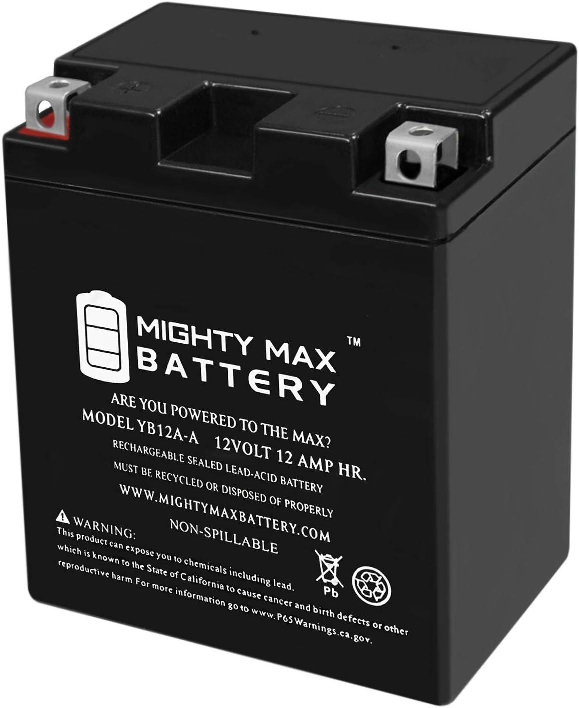 YB12A-A - 12V Luxury 12AH 165 CCA Battery Mighty Ma Sport Direct stock discount SLA Power