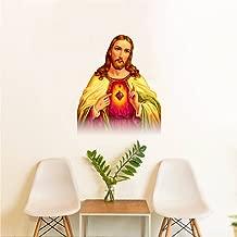 Rawpockets 'Jesus' Wall Sticker (PVC Vinyl, 0.99 cm x 40 cm x 50 cm)