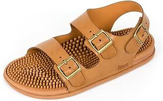 Premium Acupressure & Reflexology Massage Trek Sandals for Men & Women. Shock Absorbing, Comfortable Cushion Footbed & Arch Support.