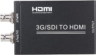 Goolsky 3G SDI TO HD+SDI Converter with Power Supply Full HD 1080P SDI TO HD-SDI and 3G-SDI Signal Display