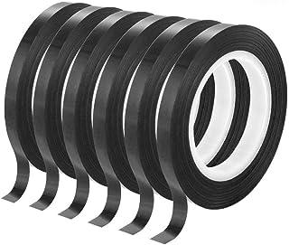 Black Whiteboard Gridding Graphic Tape Art Grid Marking Tape 6mm