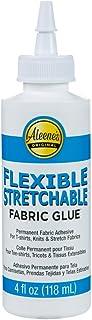 Aleene's AR70-2 Flexible Stretchable Fabric Glue, 4 oz, Multicolor