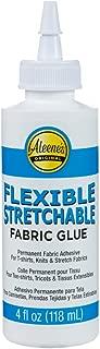 Aleene's 15592 FLEXABLE Stretchable Glue 4OZ. 36.CS, Multicolor