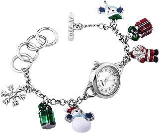 Time100 Women Pandora Series Bracelet Watch Fashion Retro Diamonds Alloy Plating Band Watches (Christmas Gift 1)
