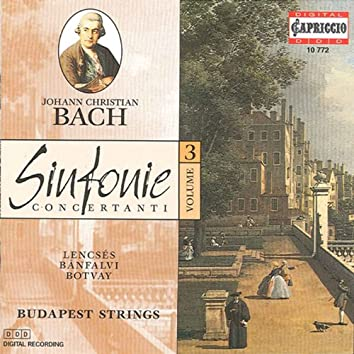 Bach, J.C.: Sinfonie Concertanti, Vol. 3