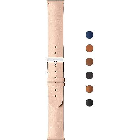 Withings Bracelet en cuir Premium pour ScanWatch, Steel HR, Steel HR Sport, Move ECG, Move and Steel