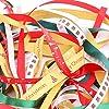 Luxbon Nastri Natalizi 20 Metri (10 x 2 Metri) Tema di Natale Nuovo Anno Vacanza Invernale Decorazione per Regali Feste #3
