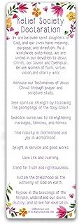 Relief Society Bookmark