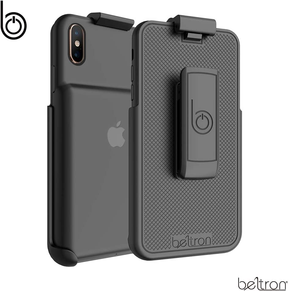 BELTRON Belt Clip Holster Compatible with Apple Smart Battery Case for iPhone Xs - (Belt Clip ONLY, Smart Battery Case NOT Included)