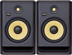KRK Rokit 8 G4 Studio Monitor Speaker Bundle - Pair