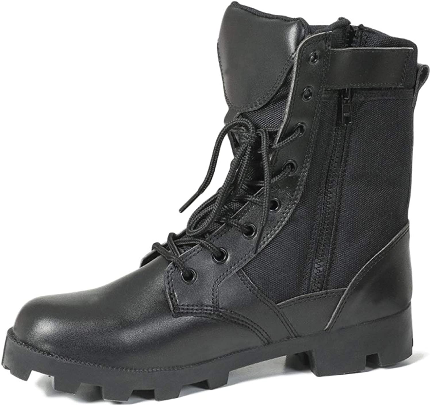 Mens Combat Army Boots Desert Tactics Trained Boot Outdoor Mountaineering shoes Armed Assault Footwear