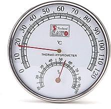 JENOR - Termómetro de vapor, higrómetro, bañera y sauna
